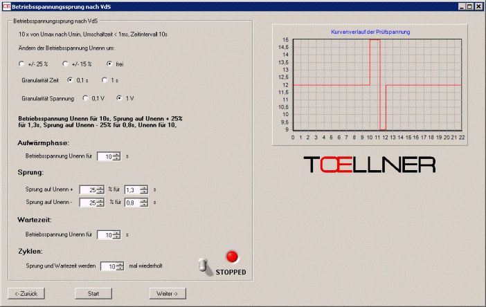 Toellner Animation Software